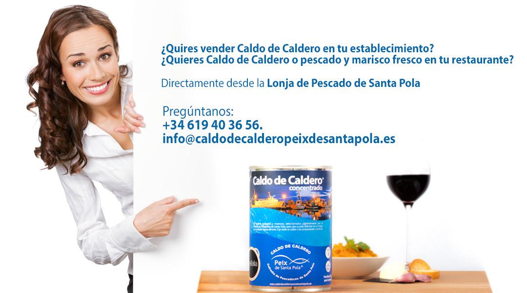 Banner Donde Comprar Caldo de Caldero Peix de Santa Pola